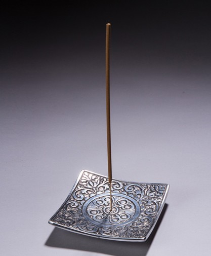 Square Holder with Pattern