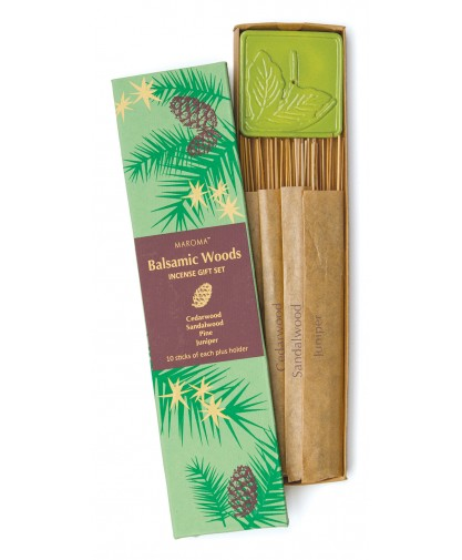 Balsamic Woods Incense Gift Set