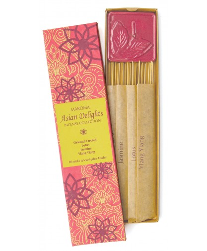 Asian Delights Incense Gift Set