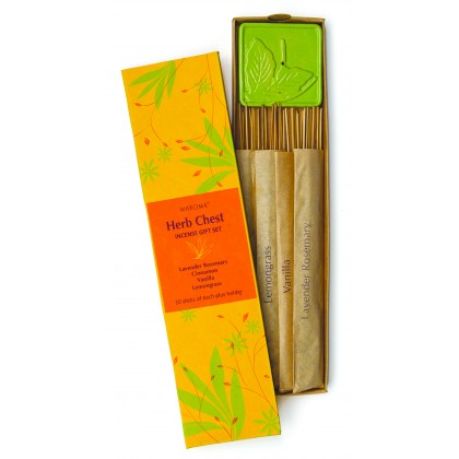 Herb Chest Incense Gift Set