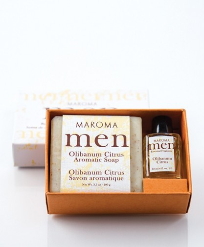 Olibanum Citrus Soap & fragrance set