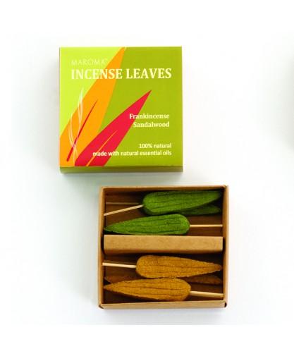 Frankincense/Sandalwood Incense Leaves