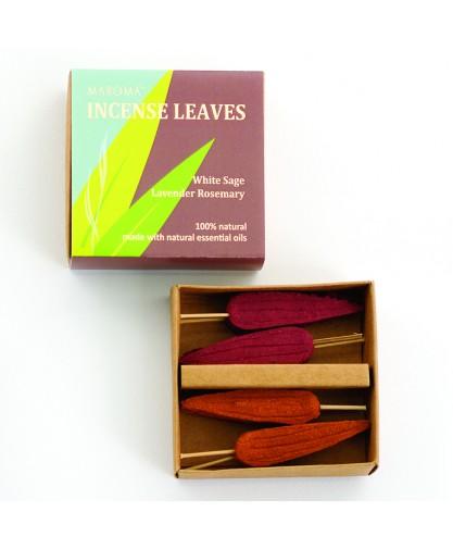 White Sage/Lavender Rosemary Incense Leaves