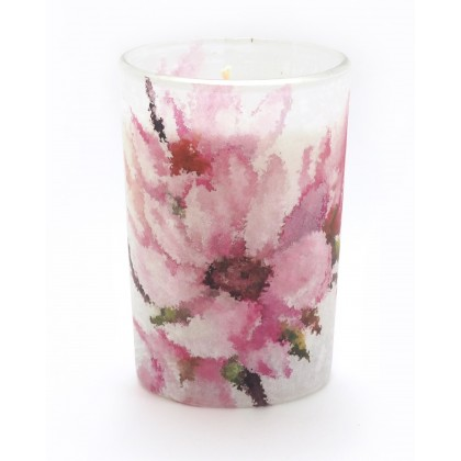 Magnolia Flower Candle