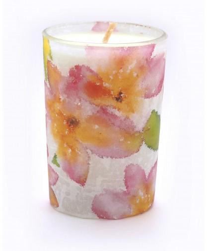 Frangipani Flower Candle