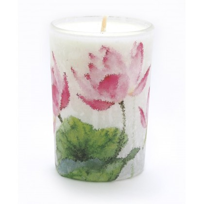 Lotus Flower Candle