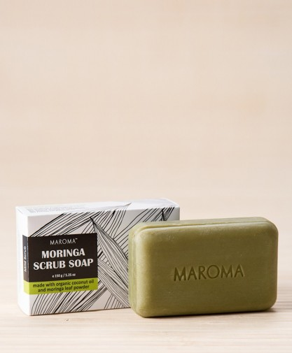 Moringa Scrub Soap