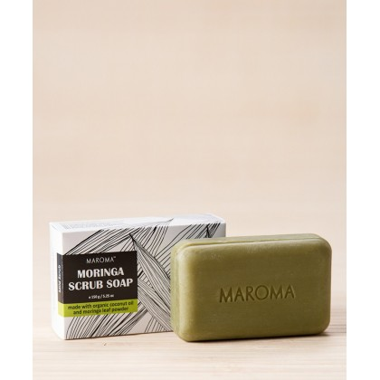 Moringa Scrub Kokum Butter Soap